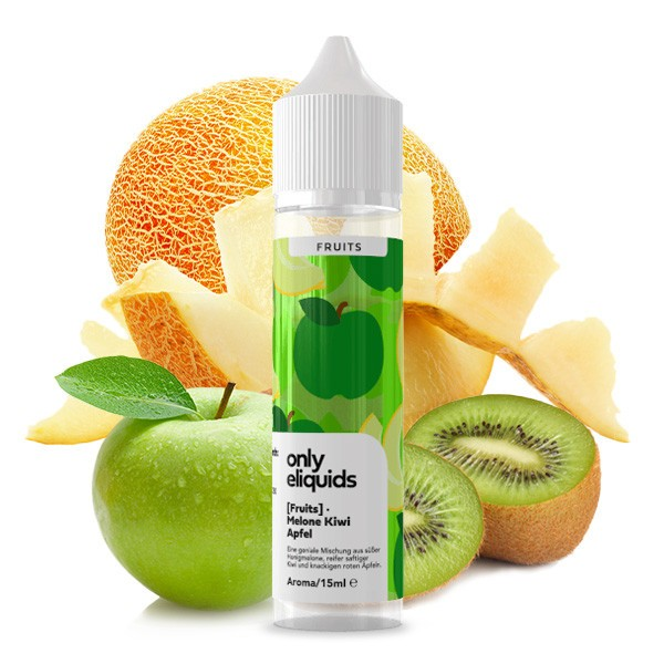 ONLY FRUITS Melone Apfel Kiwi Aroma 15ml