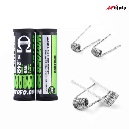 10x Wotofo Braided wire - 0,24 Ohm