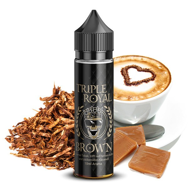 TRIPLE ROYAL Brown Aroma 10ml