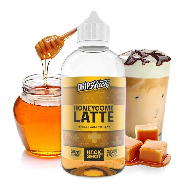Drip Hacks 50ml Aroma - Honeycomb Latte- 50ml Aroma