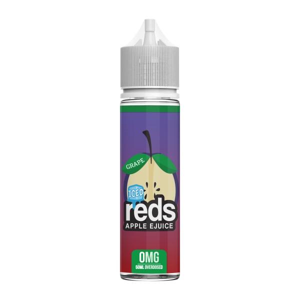 Reds Apple Juice Liquid 50ml/0mg- Grape Iced