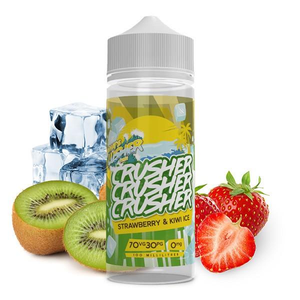 CRUSHER Strawberry Kiwi Ice UK Premium Liquid 100 ml