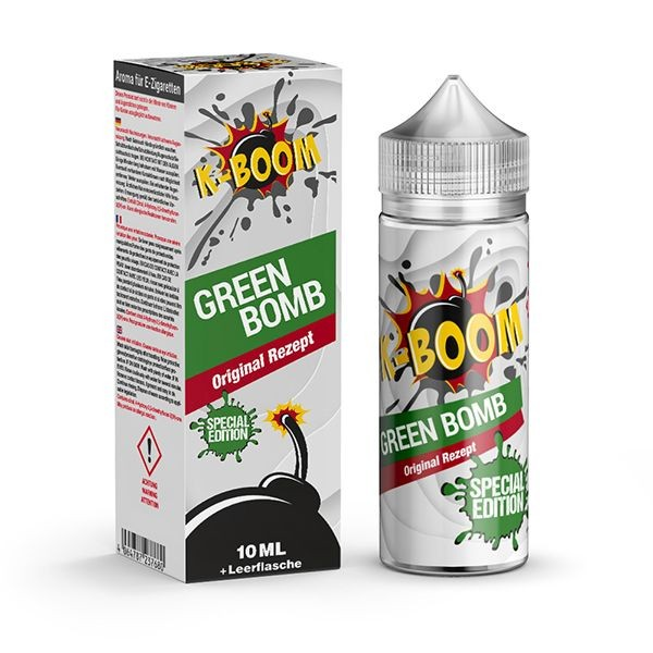 K-Boom Aroma - Green Bomb Original Rezept 10ml Aroma