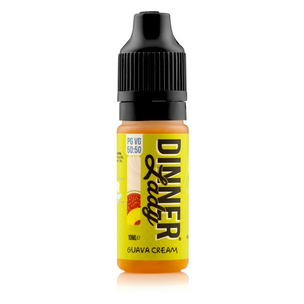 Dinner Lady 50/50 - Guava Cream Liquid 10ml