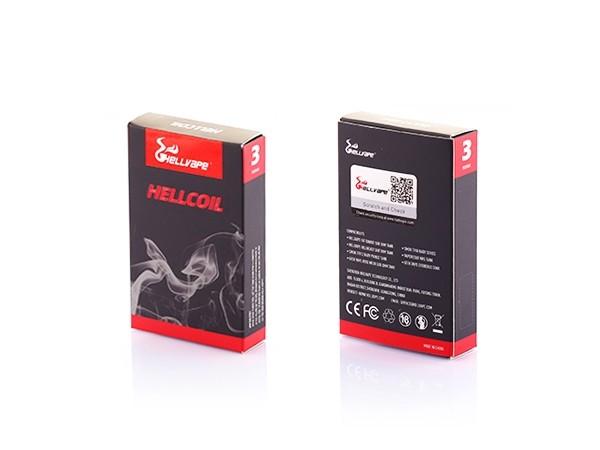 Hellvape Single Mesh Verdampferköpfe 0,2 Ohm ( 3 Stück)