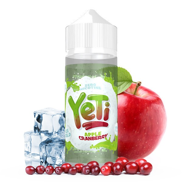 YETI Apple Cranberry Premium Liquid 100 ml