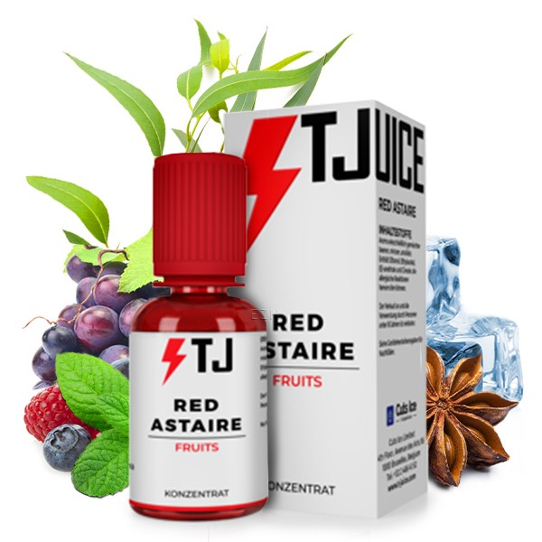 T-Juice Aroma - Red Astaire 30ml - 2021 Design