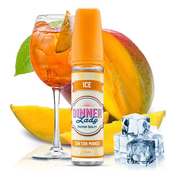DINNER LADY ICE Sun Tan Mango Aroma 20 ml