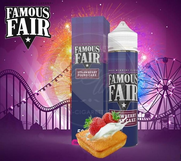Famous Fair - Strawberry Pound Cake 50ml Liquid