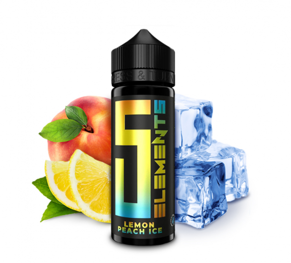 5 Elements - Lemon Peach Ice Aroma 10 ml
