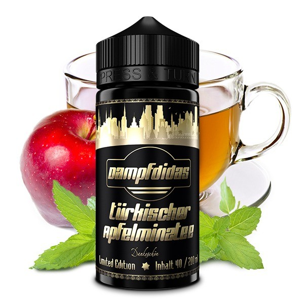 Dampfdidas Aroma - Apfel-Minz-Tee 40ml Limited Edition