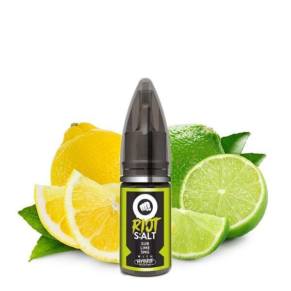 Riot Squad - Sub Lime Hybrid Liquid 10ml 20mg