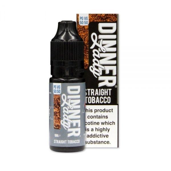Dinner Lady 50/50 - Straight Tobacco Liquid 10ml