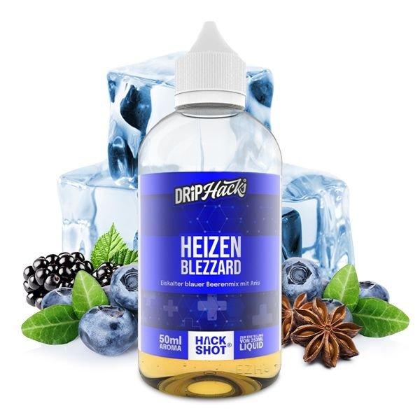 Drip Hacks 50ml Aroma - Heizenblezzard - 50ml Aroma