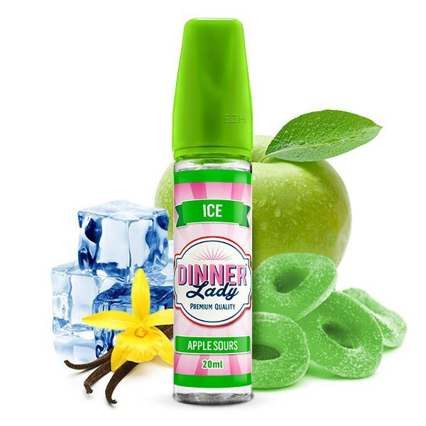 DINNER LADY ICE- Apple Sours Aroma 20ml