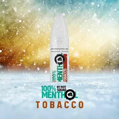 Riot Salt - 100% Menthol - Tobacco - Hybrid Nic Salt - 10ml