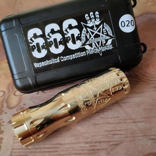 666 Mod - 21700er Tube