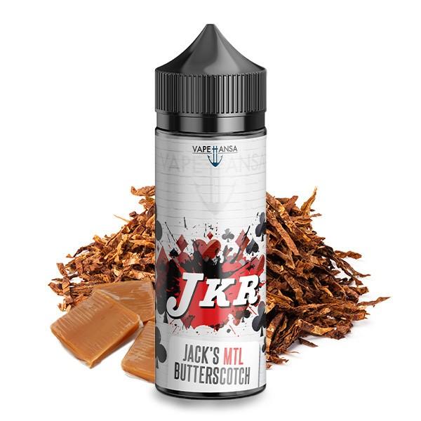 JKR FLAVOURS Kreuz Jack's MTL Butterscotch Tobacco Aroma 10 ml