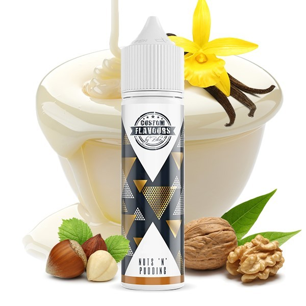 Nutz´n Pudding 15ml - Custom Flavours by Ziko feat. Kapka´s Flava Aroma