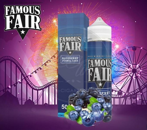 Blueberry Funnel Cake (50ml) Plus by Famous Fair