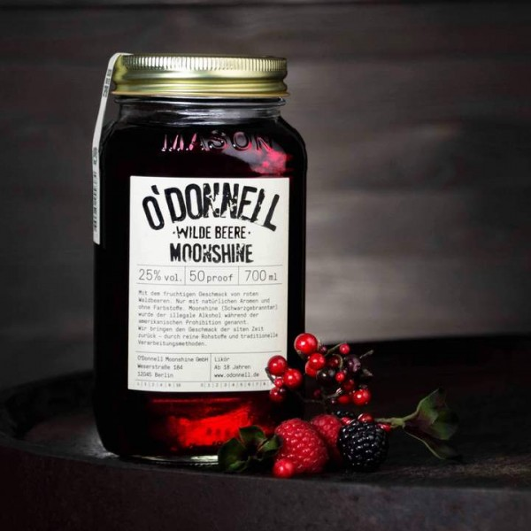 O´Donnell Moonshine - Wilde Beere