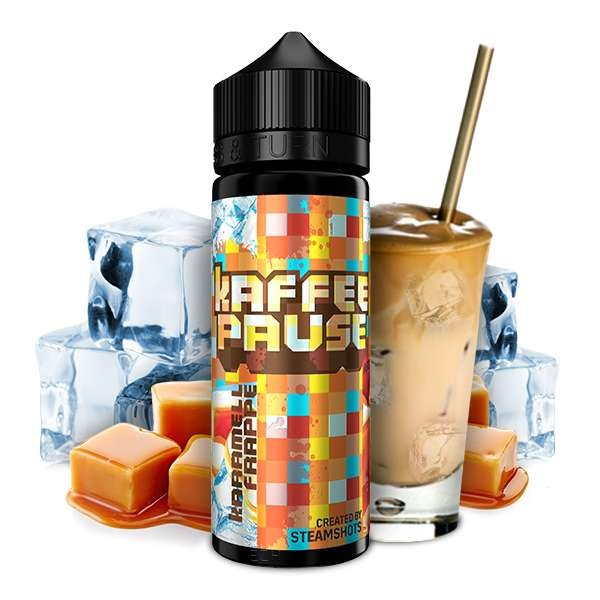 Kaffeepause by Steamshots Aroma - Karamell Frappé Ice 20m