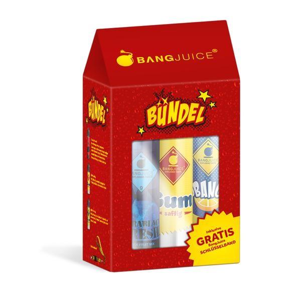 Bang Juice Aroma - Das Bang Juice BÜNDEL - Longfill Aromen + Schlüsselanhänger
