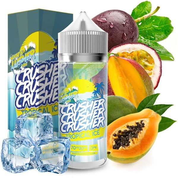 CRUSHER Tropical Ice UK Premium Liquid 100 ml