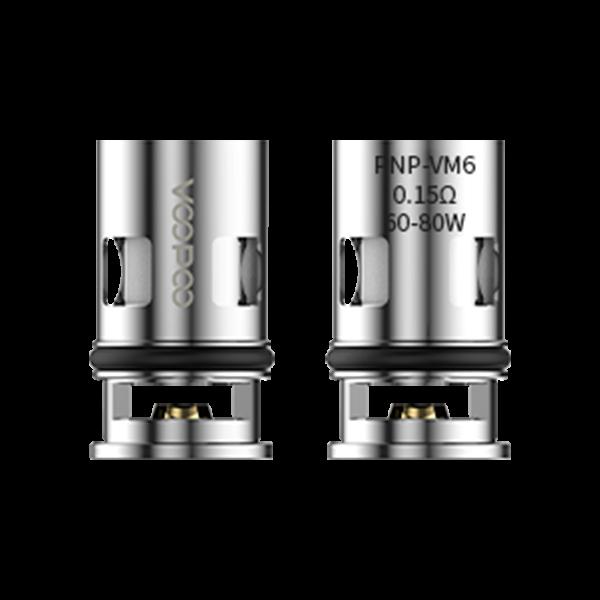 Voopoo Head - PnP-VM6 0,15 Ohm (5 Stück)