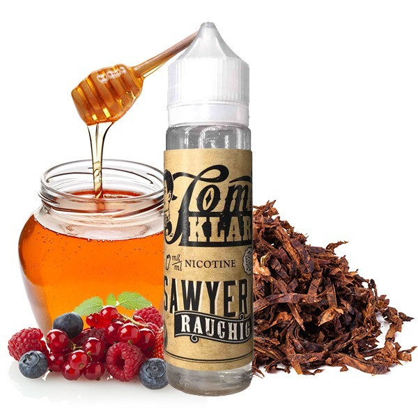 TOM KLARK'S TOM SAWYER Rauchig Premium Liquid 60 ml